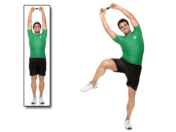 "Oblique exercise featured in an Upcoming Book ""Super Body, Super Brain"""