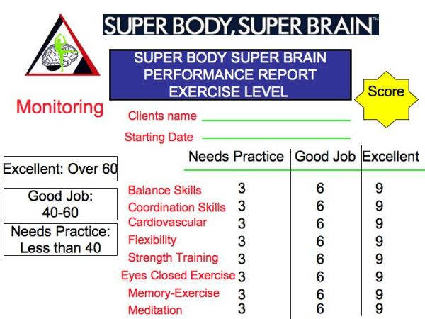 Super Body, Super Brain new revolutionary book in May 2010