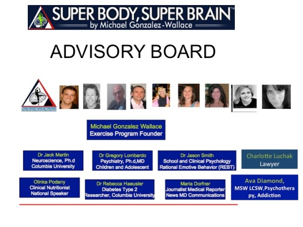 BRAIN BODY FITNESS ADVISORY BOARD