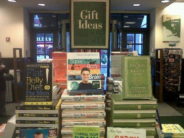 super body, super brain in book stores: start your year with a super body, super brain