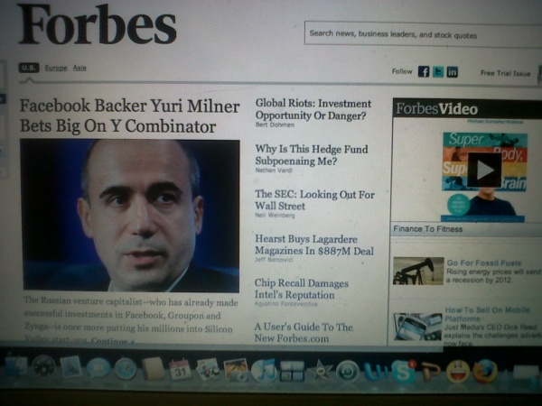 Forbes features Michael Gonzalez-Wallace, author of Super Body, Super Brain