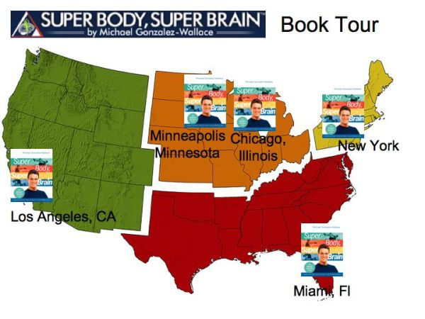 fitness book tour