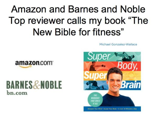 Amazon and Barnes & Noble Top Reviewer reviews SUPER BODY, SUPER BRAIN