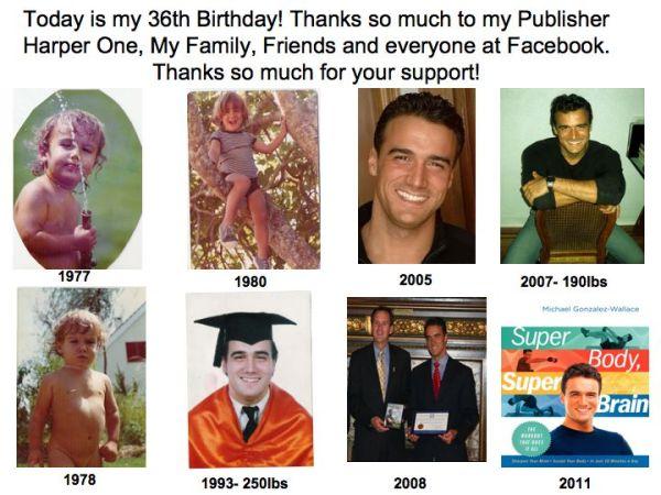 Michael Gonzalez-Wallace's 36th Birthday