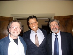 With Neurobiologist John Martin PhD and my dad, another phenomenal scientist