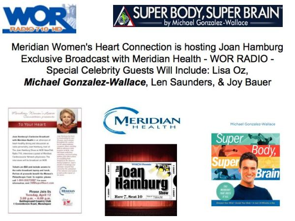 Joan Hamburg interviews Michael Gonzalez-Wallace, AUthor of Super Body, Super Brain