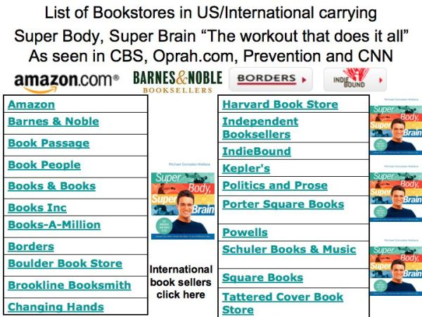 National Bookstores carrying Super Body, Super Brain