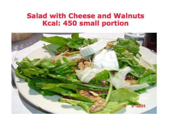 Duncan diet and salads