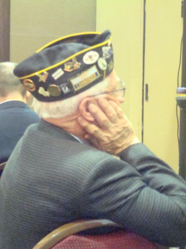 Veterans day-Brain traumatic injury