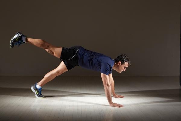 Advanced Core Move: Push Ups plus leg raise by Michael Gonzalez-Wallace from Bodysmart