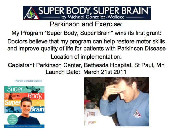 Parkinson Grant: Parkinson and Exercise