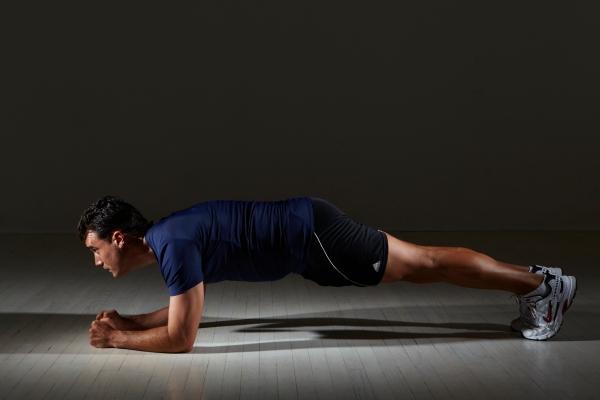 Plank Push ups