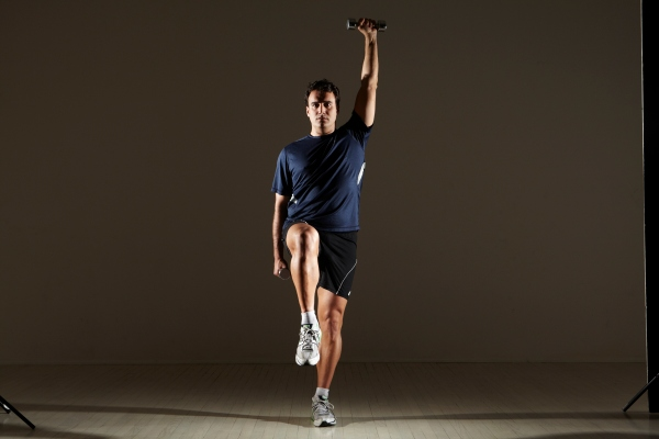 Balance-Coordination and Strength! MIchael Gonzalez-Wallace proposes this week a move with balance, coordination and strength