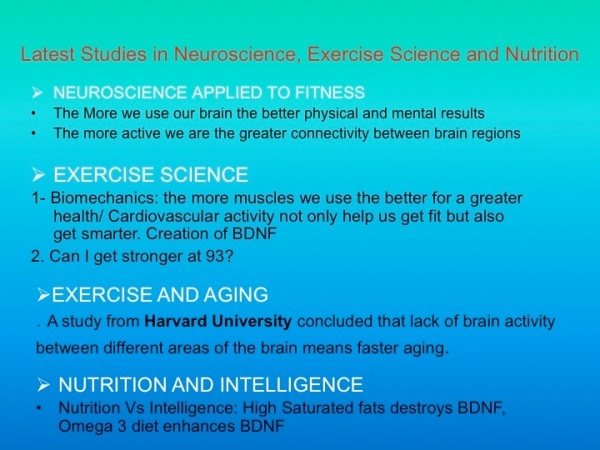 TRENDS IN EXERCISE AND NEUROSCIENCE