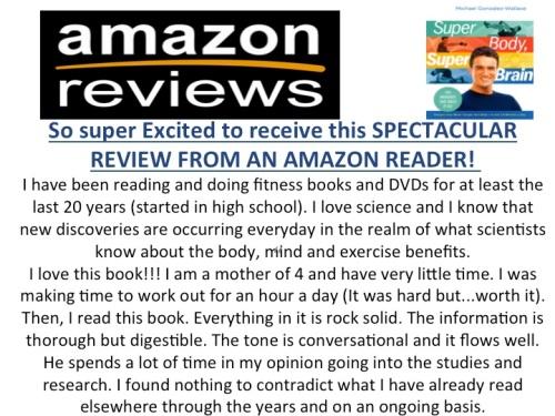 AMAZON reader reviews Super Body, Super Brain by Michael Gonzalez-Wallace