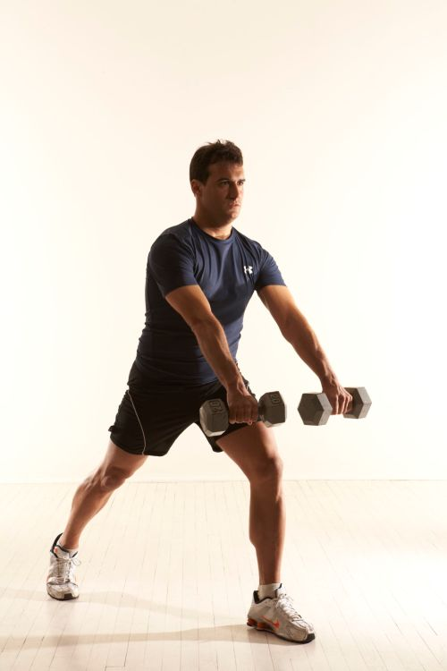Front Shoulders Rowing and Balance