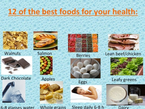 12 of the best foods for your body and brain by Michael Gonzalez-Wallace
