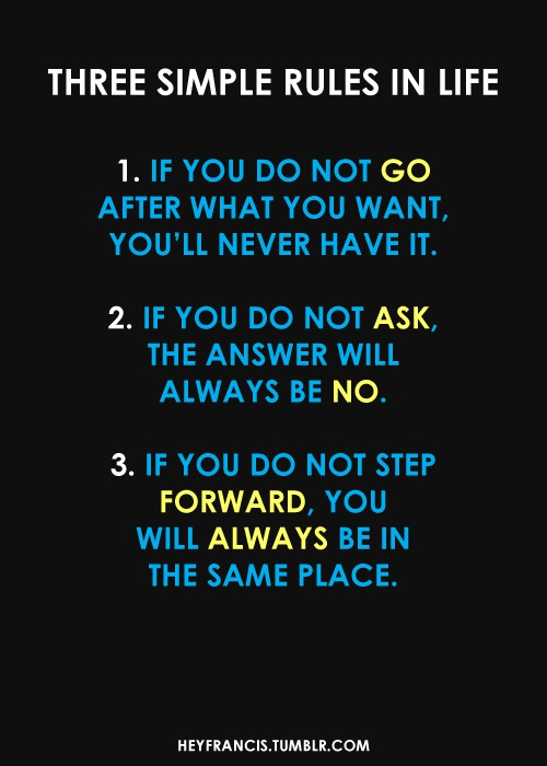 3 MOTIVATIONAL RULES IN LIFE