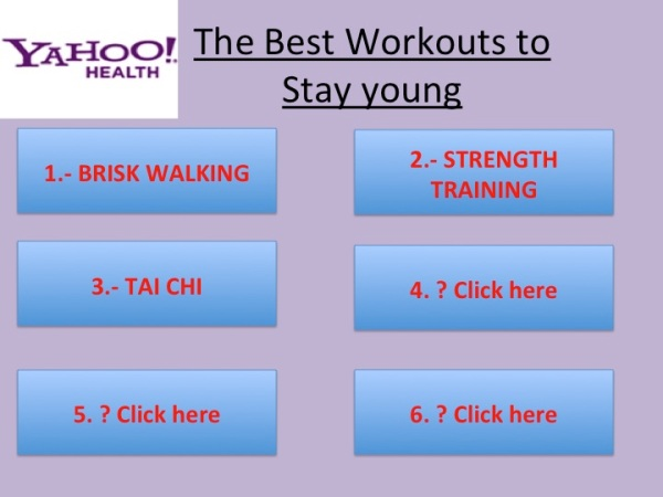 best anti aging workouts yahoo